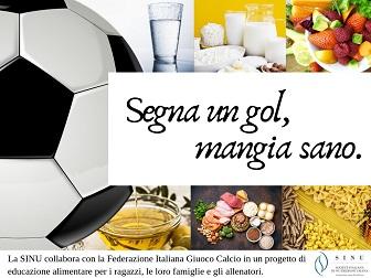 Segna un gol, mangia sano