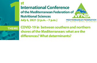 Covid-19 in the south and north of the Mediterranean: what differences? What determinants?